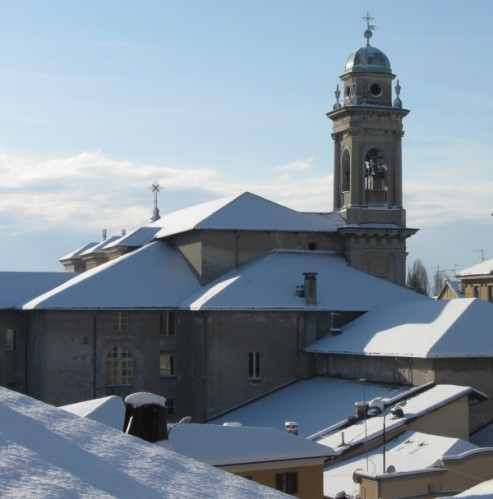Biella - San Filippo Neri con la neve