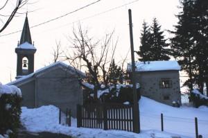 chiesa in frazione minceto a ronco scrivia
