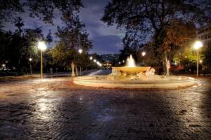 Fontana delle paparelle, villa comunale