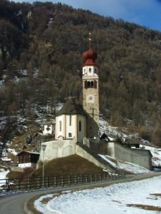 Nevica sulla chiesetta