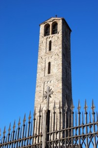 Scorcio Campanile Chiesa di SMaria in campagna