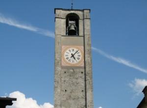 Una diagonale dietro al campanile di S.Martino