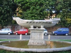 Roma-Piazza della Navicella (Celio)