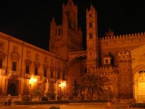 "Palermo- ""La Cattedrale by night"""