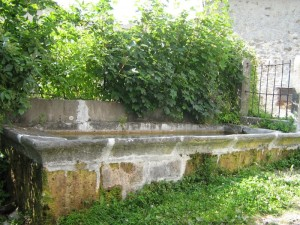 Sesta, una delle vecchie fontane