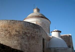 Abside e cupola della chiesa di Stromboli
