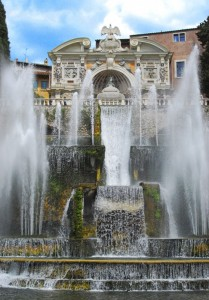 La fontana di Tivoli