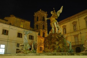 Raiano - Santa Maria Maggiore e Fontana di San Giorgio