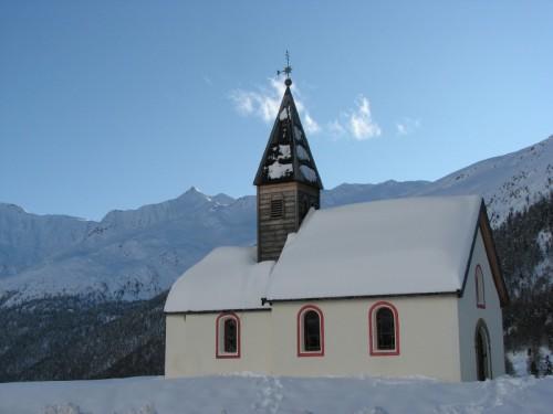 Senales - Chiesa ai piedi del ghiacciaio