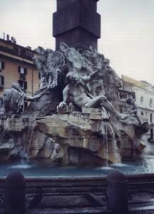 Piazza Navona Fontana dei Fiumi