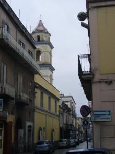 La strada verso il Municipio
