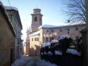 neve su San Pietro in vincoli