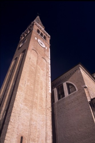 Portogruaro - Duomo e torre campanaria pendente