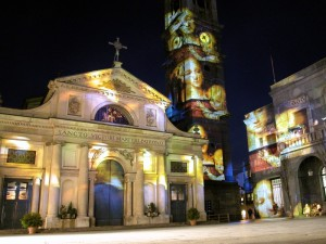 Proiezioni in Basilica