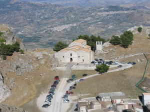 "Chiesa Madre- veduta dal ""Pizzo"" di Caltabellotta"