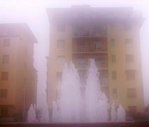 Che nebbione oggi!