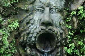 Fontana dei giardini La Mortella