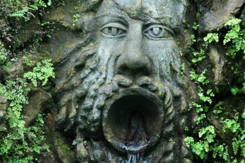 Forio - Fontana dei giardini La Mortella