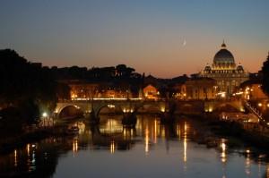 Luna su San Pietro