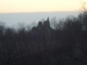 abbazia in rovina
