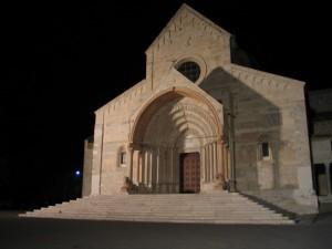 Notturno della cattedrale di Ancona
