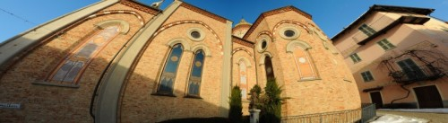 Antignano - Chiesa panoramicha sferica