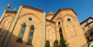 Chiesa panoramica prospettica