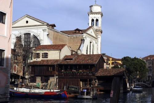 Venezia - San Trovaso e lo Squero