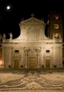 La parrocchia di notte