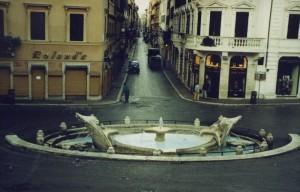 Alba a Piazza di Spagna