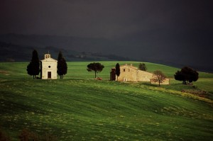 Pieve in val d'Orcia