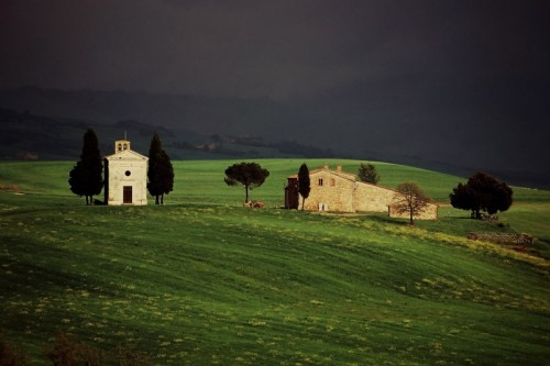 Pienza - Pieve in val d'Orcia