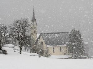 Nevicata sulla chiesa di S.Antonio