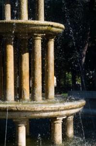 Fontana nella villa comunale
