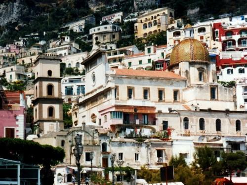 Positano - La chiesa sul mare di Positano