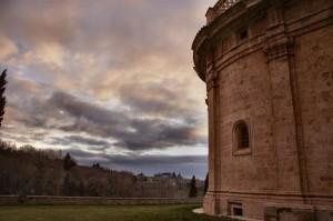 San Biagio al tramonto