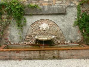 Fontana dell'Orto Botanico di Lucca