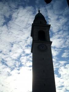 Il campanile della Chiesa di Rivignano