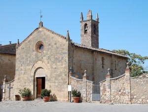 la chiesa fortificata