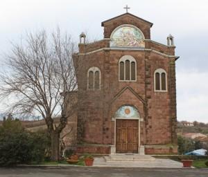 chiesetta di un piccolo borgo