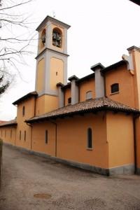 Scorcio Chiesa con Campanile S.Giovanni Decollato