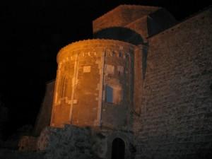Notturno della cattedrale del SS. Pietro e Paolo a Sovana: abside