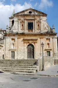 Barocco siciliano - Chiesa Santa Maria della Consolazione  (2) - Scicli