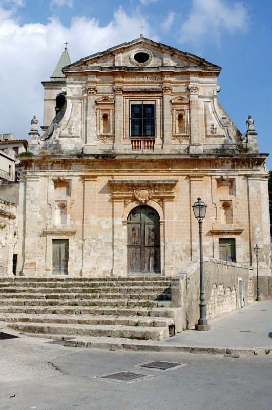 ''Barocco siciliano - Chiesa Santa Maria della Consolazione  (2) - Scicli'' - Scicli