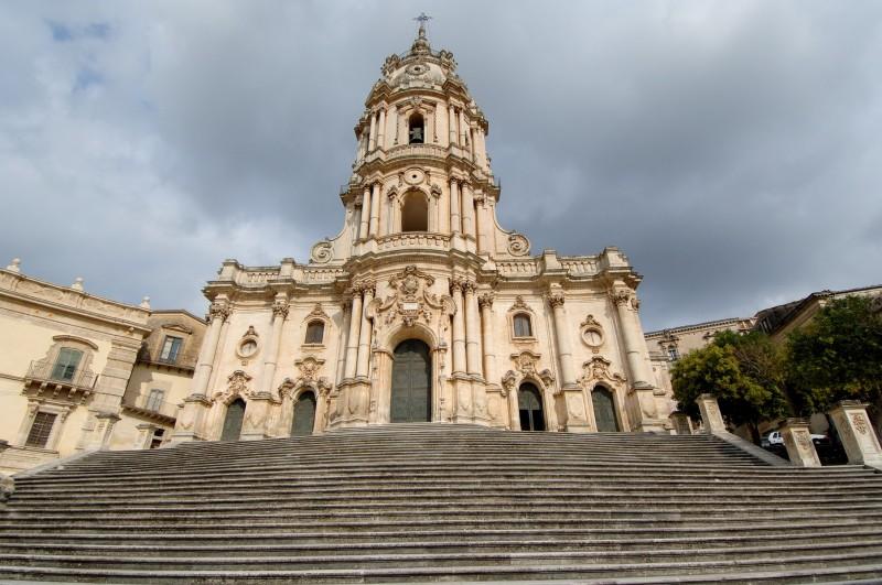''Barocco siciliano - Basilica di San Giorgio (2)- Modica'' - Modica