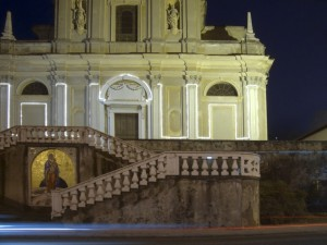 Notturno sulla parrocchiale di S.Zenone