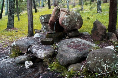 Neoneli - Una fontana naturale.