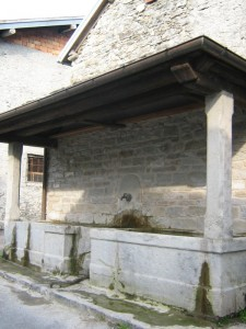 Fontana nel borgo di Casarola