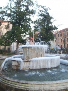 Fontana piazza Merlin