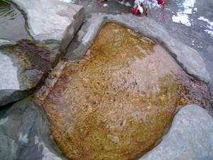 Il riflesso nella pietra